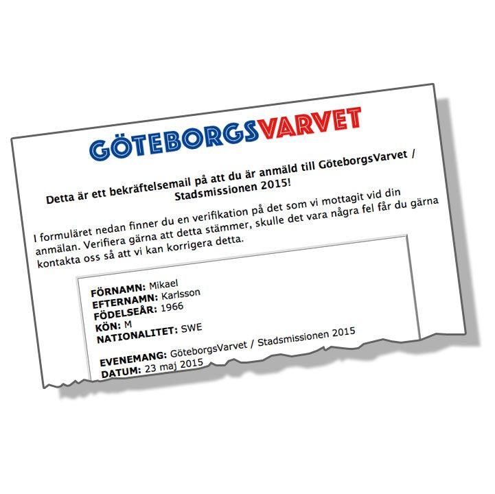 Jag springer GöteborgsVarvet 2015