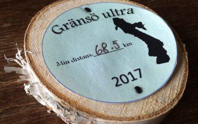Gjorde fulla distansen 68 km på Gränsö Ultra 2017